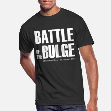 Bulge Battle of the Bulge (White) - Men's 50/50 T-Shirt