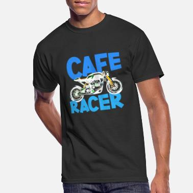 Cafe racer motorcycle biker - Men's 50/50 T-Shirt