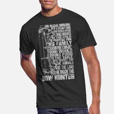 Long Bow Bow hunter - Awesome bow hunter t-shirt - Men's 50/50 T-Shirt