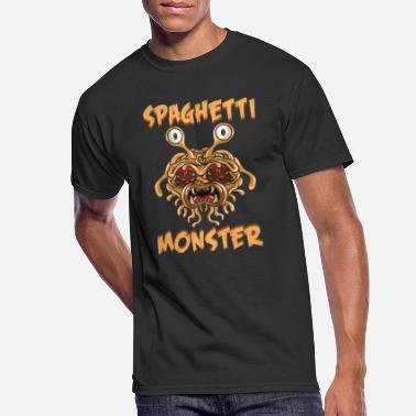 Spaghetti Flying Spaghetti Monster Pastafarian FSM Gift - Men's 50/50 T-Shirt