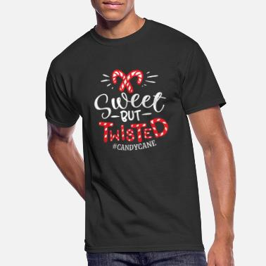 Sweet but Twisted Christmas Design - Men's 50/50 T-Shirt