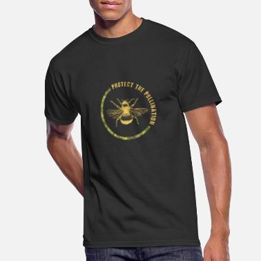 Pollinate Protect the pollination with a huge bee - Men's 50/50 T-Shirt