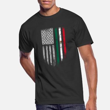 Mexican Mexican roots - Mexican roots t-shirt for americ - Men's 50/50 T-Shirt