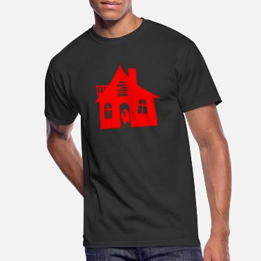 Haunted House haunted house - Men's 50/50 T-Shirt