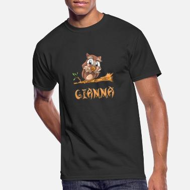 Gianna Gianna Owl - Men's 50/50 T-Shirt