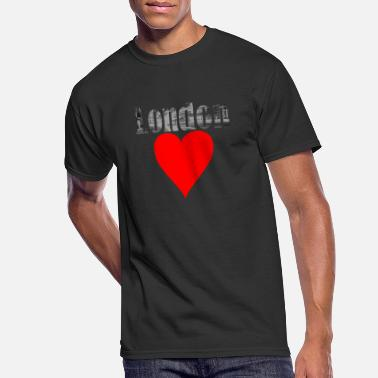 Cosmopolitan City A heart for London! Gift, cosmopolitan city - Men's 50/50 T-Shirt