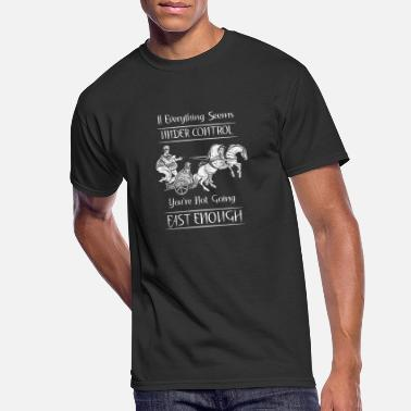 Motivational Horse Riding Animal Quotes - Men's 50/50 T-Shirt