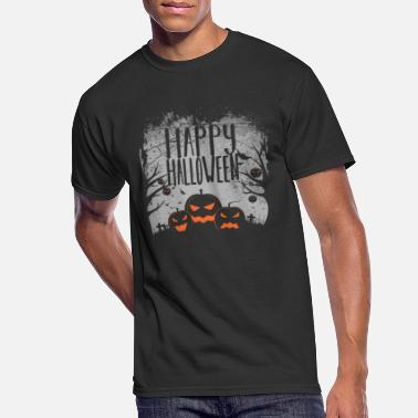 Happy Halloween - Men's 50/50 T-Shirt