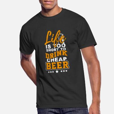 Oktoberfest Life is too short for cheap beer - Men's 50/50 T-Shirt