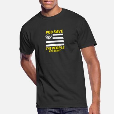 Pod Save the People - Men's 50/50 T-Shirt