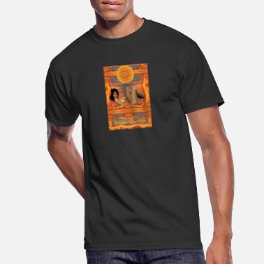 Groovy Groovy Chick - Men's 50/50 T-Shirt