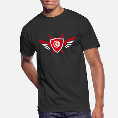 Sousse Tunisia wings / gift Djerba coat of arms - Men's 50/50 T-Shirt