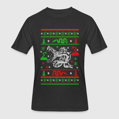 Snakes Ugly Christmas Sweater - Men's 50/50 T-Shirt