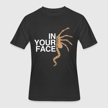 In your face - Men's 50/50 T-Shirt
