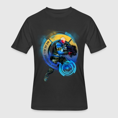 Overwatch: Soldier 76 - Men's 50/50 T-Shirt