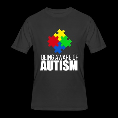 Autism awareness - being aware of autism - Men's 50/50 T-Shirt