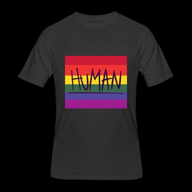 you are human - Men's 50/50 T-Shirt