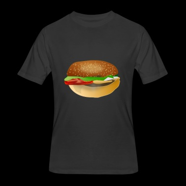 hamburger - Men's 50/50 T-Shirt