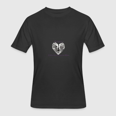 Love in Lungs - Men's 50/50 T-Shirt