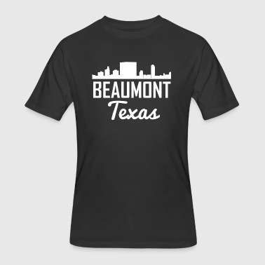 Beaumont Texas Skyline - Men's 50/50 T-Shirt