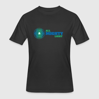 ALL MIGHTY LIGHT - Men's 50/50 T-Shirt