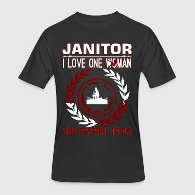 Janitor I Love One Woman And Several Tools - Men's 50/50 T-Shirt
