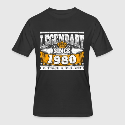 Legend Birthday: Legendary since 1980 birth year - Men's 50/50 T-Shirt