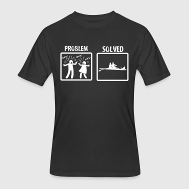 Problem Solved Rowing - Men's 50/50 T-Shirt