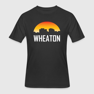 Wheaton Maryland Sunset Skyline - Men's 50/50 T-Shirt