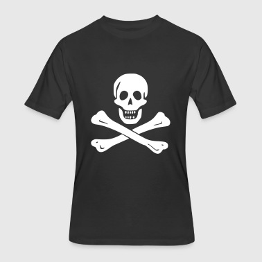 Skull and Crossbones - Men's 50/50 T-Shirt