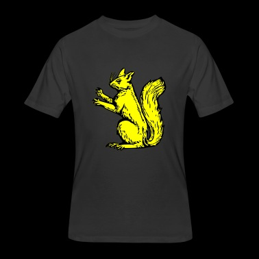 squirrel - Men's 50/50 T-Shirt