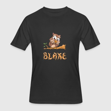 Blake Owl - Men's 50/50 T-Shirt