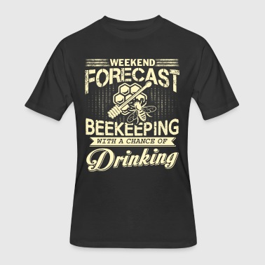 Weekend Forecast Beekeeping T Shirt - Men's 50/50 T-Shirt
