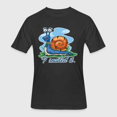 I Snailed It Shirt - Men's 50/50 T-Shirt