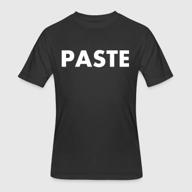 Paste Happy Fathers Day - Men's 50/50 T-Shirt