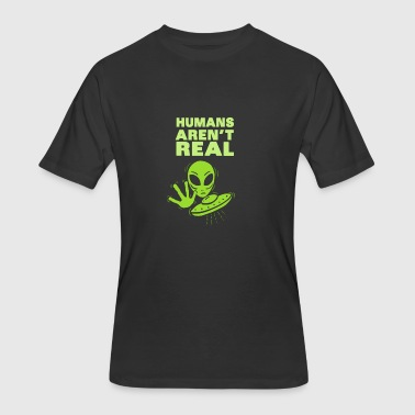 Aliens – Humans aren´t real - Men's 50/50 T-Shirt