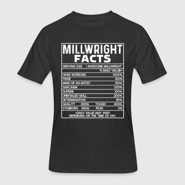 Millwright Facts Shirt - Men's 50/50 T-Shirt