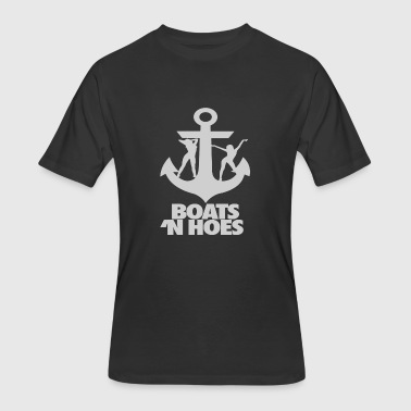 Boats N Hoes - Men's 50/50 T-Shirt