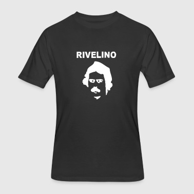 RIVELINO BRAZIL 70s FOOTBALL WORLD CUP LEGEND RETR - Men's 50/50 T-Shirt