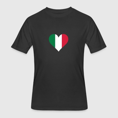 A Heart For Italy - Men's 50/50 T-Shirt
