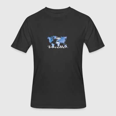 I'm a traveller - Men's 50/50 T-Shirt