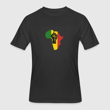 African Power - Men's 50/50 T-Shirt