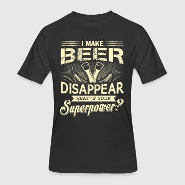 I Make Beer Disappear T Shirt - Men's 50/50 T-Shirt