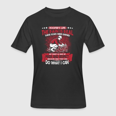 Roofer - Men's 50/50 T-Shirt