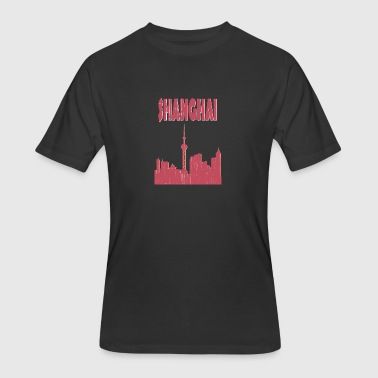 SHANGHAI City - Men's 50/50 T-Shirt