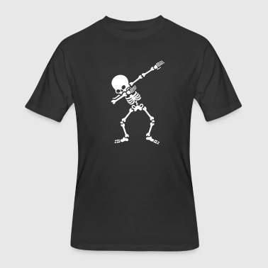 Dabbing skeleton (Dab) - Men's 50/50 T-Shirt