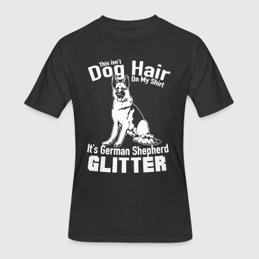 German Shepherd Glitter Shirt - Men's 50/50 T-Shirt