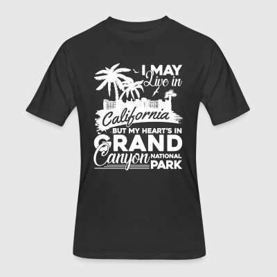 My Heart Is In Grand Canyon Shirt - Men's 50/50 T-Shirt