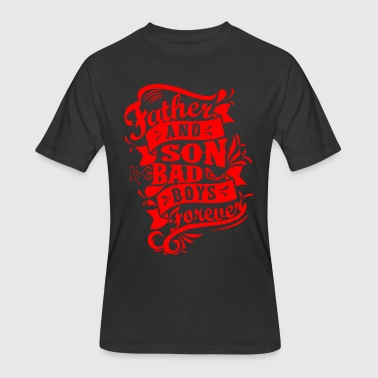 Father and Son Bad Boys - Men's 50/50 T-Shirt