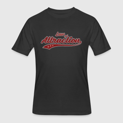 Law of Attraction (retro Color) - Men's 50/50 T-Shirt